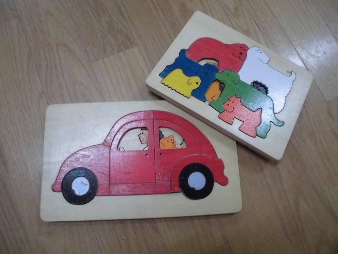 2歳 木製パズル